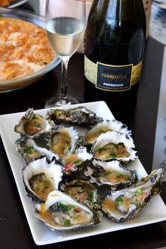 To Food with Love: Oysters with Thai Lime and Ginger Dressing