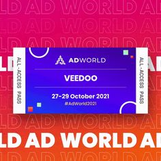Fantastic event to be part of, awesome job @adworldconf 🙋🏻♂️ Looking forward to the next one (27-29 October) 🚀📆 🎫 #AdWorld2021 #digitalmarketingevent #sem #digitalmarketing #veedoomedia Digital Marketing, October, Ads, World, Business, Awesome, Store, The World, Business Illustration