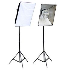 ePhoto 2000-Watt Photography Video Lighting Kit with Carrying Case SFT2KIT  If you prefer to have a better lighting setup where you take photos of your wreaths, and especially if you have no windows with natural light, this set is a good option