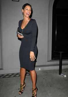 Nicole Murphy Photos - Celebrities enjoy dinner at Craig& Restaurant on June 2015 in West Hollywood, California. - Celebrities Dine out at Craig& Restaurant in Hollywood Trendy Outfits, Fashion Outfits, Womens Fashion, Fashion Tips, Nicole Murphy, Casual Night Out, Black Goddess, Celebs, Celebrities