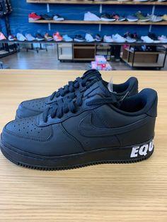 big sale cc6c8 f03a7 Nike Air Force 1 CMFT Equality QS BHM Black History Month AQ2125-001 SZ 7.5