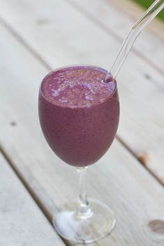 strawberry cherry basil smoothie