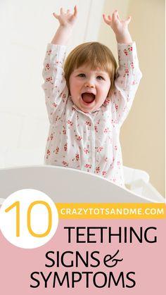 10 Top Teething Signs and Symptoms – Cute Baby Humor Teething Signs, Teething Symptoms, Teething Remedies, Early Teething, Is My Baby Teething, Funny Babies, Cute Babies, Signs And Symptoms, All Family