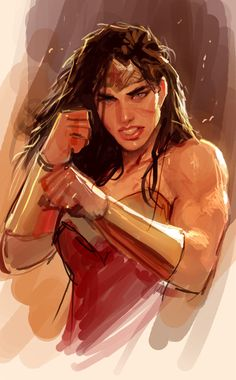 morning warmup by nebezial wonder woman superhero female fighter gladiator warrior amazon gauntlets crown armor clothes clothing fashion player character npc | Create your own roleplaying game material w/ RPG Bard: www.rpgbard.com | Writing inspiration for Dungeons and Dragons DND D&D Pathfinder PFRPG Warhammer 40k Star Wars Shadowrun Call of Cthulhu Lord of the Rings LoTR + d20 fantasy science fiction scifi horror design | Not Trusty Sword art: click artwork for source