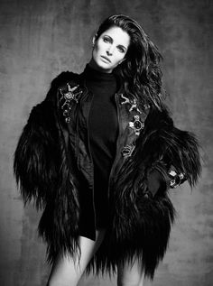 2014. Vogue Japan. Model Stephanie Seymour. Photo by Luigi & Lango