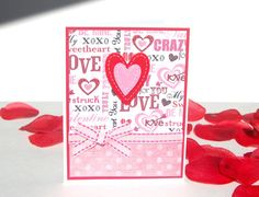 Handmade Valentine's Day Card Warm and Fuzzy by TheHumbleShop, $4.95