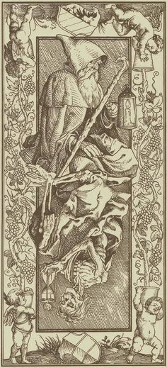 The Hermit-Le Tarot d'Albrecht Dürer – Verso des cartes The Hermit-The Tarot by Albrecht Dürer – Back of the cards The Hermit Tarot, Rose Croix, Albrecht Dürer, Le Tarot, Esoteric Art, Arte Obscura, Occult Art, Illustration, Medieval Art