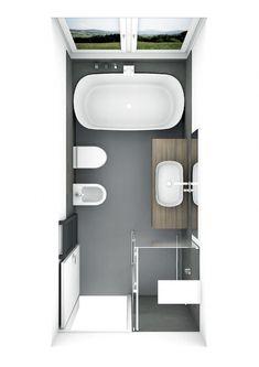 Bathroom With Shower And Bath, Zen Bathroom Decor, Bathroom Plans, Bathroom Design Small, Bathroom Interior Design, Bathroom Renovations, Modern Bathroom, Home Remodeling, Bathroom Ideas