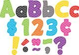 "Checkout the ""Chevron Funtastic 4 Inch Letters Combo Pack"" product"