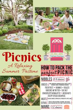 Picnics - a relaxing summer pastime packed with tasty foods, drinks, fun, and games. Plus, link up at Home Matters. Picnic Activities, Activities To Do, Salt Crackers, Mixed Nuts, Pool Landscaping, Family Games, Prosciutto, Chorizo, Outdoor Fun