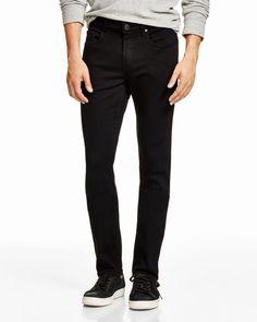 3162a7ca9 Men s Lennox Super Slim Fit Jeans In Black