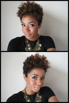 Cute short hairstyle!