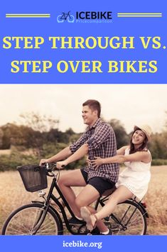 In addition to the traditional bikes, step-through bikes have entered the fray and that has left a huge question with bikers-Which one should they go for? The answer isn't simple, but we will discuss the aspects and features of both these bikes. #bikes #roadbikes #mountainbikes #hybridbikes #electricbikes #comportbikes Free Advertising, Back In Time, Road Bikes, Mountain Biking, 19th Century, Bicycle, Clothing, Pants, Dresses