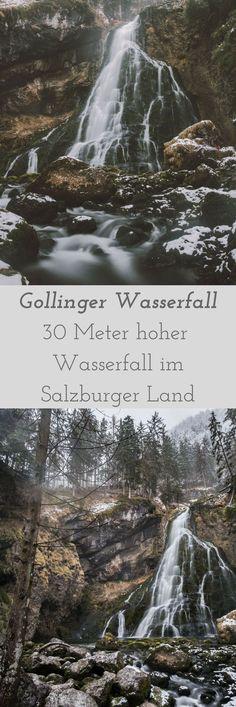 Gollinger Wasserfall im Salzburger Land im Winter! Sehenswert!!!