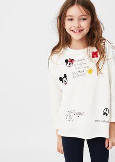 Mickey mouse sweatshirt   MANGO KIDS