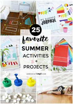 Get ready to have the best summer yet with our favorite summer projects and fun activities!