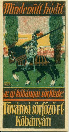 1912-ben hozták létre a Fővárosi Sörfőző Rt.-t, Kőbánya hatodik sörgyáraként. A gyár első és legismertebb terméke a Mátyás Király Sör volt, ami a védjegyévé is vált.