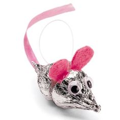 Hershey Kiss Mouse Craft