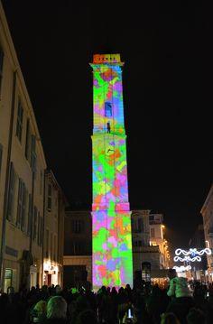 Tour de l'Horloge Nîmes Noël 2015