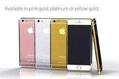 iPhone 6 de ouro com diamantes é colocado à venda por 20 mil reais