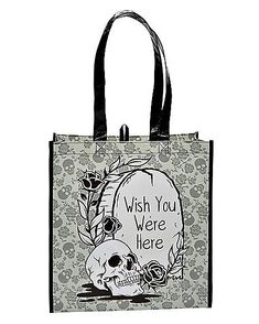 Wish You Were Here Tote Bag - Spirithalloween.com Kids Witch Costume, Reusable Grocery Bags, Wish You Are Here, Signature Collection, Career, Real Estate, Carrera, Real Estates