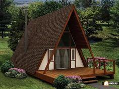 дом треугольной формы: 10 тыс изображений найдено в Яндекс.Картинках