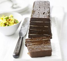 For the decadent dinner party - this rich chocolate dessert is for serious chocoholics only.