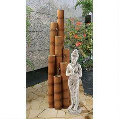 Cascading Bamboo Sculptural Fountain Was: $350.00           Now: $299.00