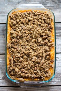 Make family favorite sweet potato casserole and wow everyone at the table with this delicious and easy classic recipe!