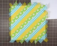 Doodlebug Design Inc Blog: Washi Tape Week: Tutorial Tuesday x Two (visit post to view completed card!)