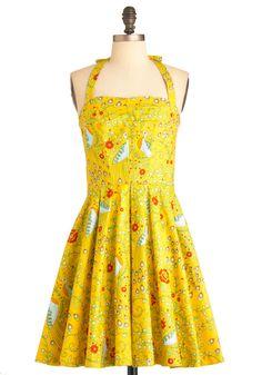 Pretty as a Peacock Dress | Mod Retro Vintage Dresses | ModCloth.com
