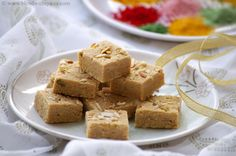 Mohanthal #Recipe - Gram Flour #Fudge Recipe - A Traditional #Gujarati Sweet -------------- #indianfood #indianrecipes #sweets #holi #holirecipes #holisweets #indiansweets #sweetsrecipes #desserts #food #cooking #indiancuisine #festival #festivefood