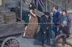 Outlander Season 2 being filmed in the harbour town of Dysart in Fife.