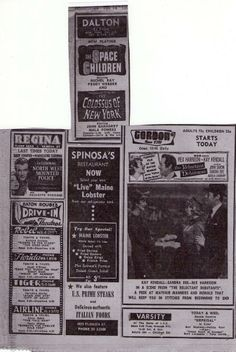 The Advocate theater advertisement