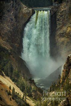 Lower Waterfalls: See  more images at http://robert-bales.artistwebsites.com/