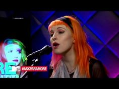 Paramore - Still Into You Live From MTV. Love her voice!
