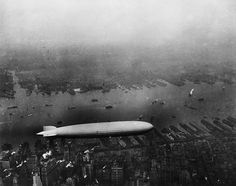 The Lz 129 Graf Zeppelin over NYC