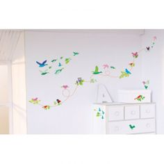 Bird Wall Stickers, wall stickers with birds, flying bird decals