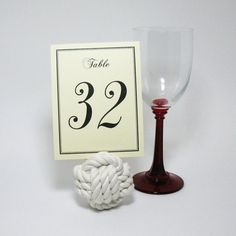 Nautical Wedding Knot Monkey Fist Centerpiece Card Holder White Monkey fist knots are 3 inches across and made with inch bright white cotton rope in 3 Sailor Wedding, Nautical Wedding Favors, Wedding Decor, Wedding Ideas, Wedding Knot, Dream Wedding, Monkey Fist Knot, Nautical Table, Nautical Knots