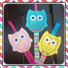 Owls - Twit Twoo by Sarah on Etsy