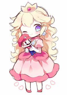 Super Mario Princess, Mario And Princess Peach, Nintendo Princess, Super Mario Kunst, Super Mario Art, Super Mario World, Mundo Super Mario, Super Mario Nintendo, Harmonie Mario