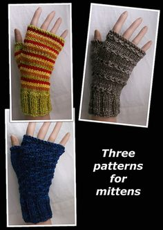 Ravelry: Three patterns for mittens pattern by Brian smith free pattern