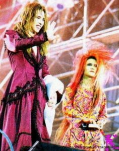 Yoshiki. hide. X-JAPAN.