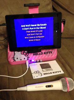 Sakar iSing Hello Kitty Sound System