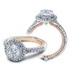 VERRAGIO engagement ring. Two tone. Gorgeous!!!!!!!!!!!!!!!    $107.06 a month $5,050