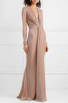 V-Neck Evening Gown,Long Sleeve Formal Prom Dresses,Elegant Evening Maxi Gowns, Evening Dresses, Elegant Evening Gowns, Long Sleeve Evening Gowns, Dresses Short, Prom Dresses, Blush Gown, Pinup Girl Clothing, Old Hollywood Glamour