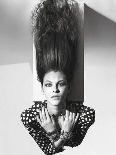 Vittoria Ceretti by Mario Sorrenti for Vogue Paris April 2017