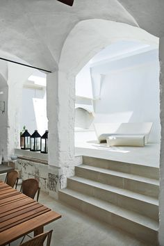 Summer Home of Designers Ludovica Roberto Palomba - a renovated 17th Century Oil Mill, Salento, Italy
