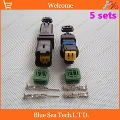 5 sets 2Pin car connector,FO Turn light Plug,FO lamp socket,FCI Car Sensor connector for PEUGEOT,Citroen etc. #Affiliate
