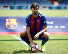 Andre Gomes (POR) - From Valencia (ESP) to Barcelona (ESP) - £46 million - 2016
